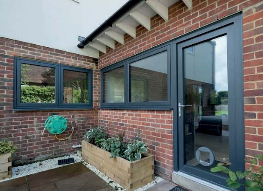 Aluminium Windows and Door from outside